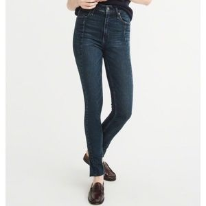 ABERCROMBIE & FITCH Simone high rise jeans